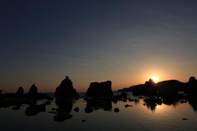和歌山県串本の橋杭岩